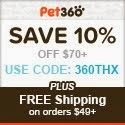 Holiday Savings at Pet360.com!