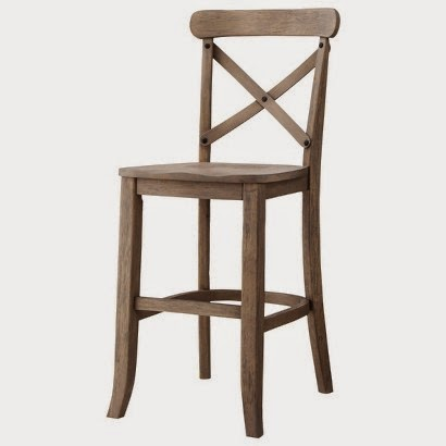 World Market - French Bistro Counter Stool · Target - Country X-Back Counter  Stool Driftwood