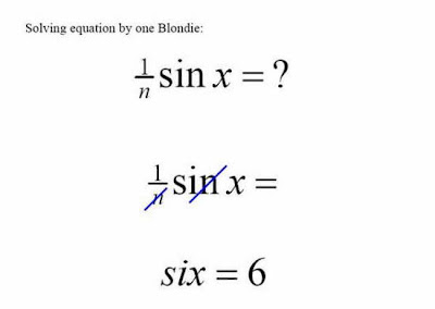 solving equations funny
