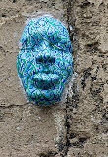 Face Or Mask Optical Illusion
