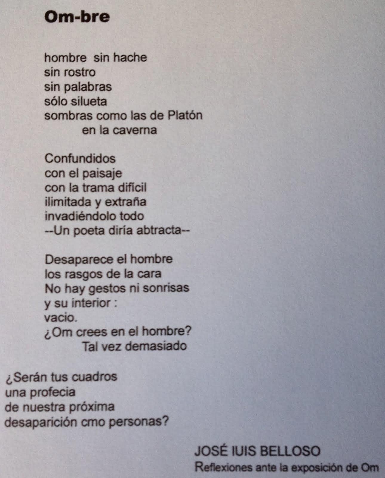 Reflexiones José Luis Belloso