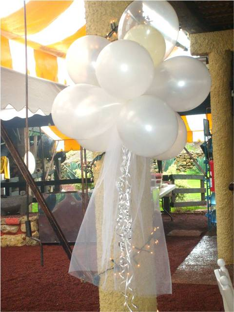 Fotos de arreglos de globos para bodas - Imagui