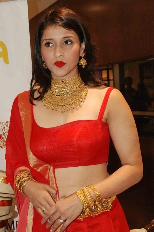 Mannara Chopra navel