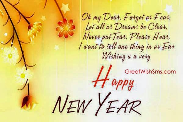 Happy New Year Sms 140 Words