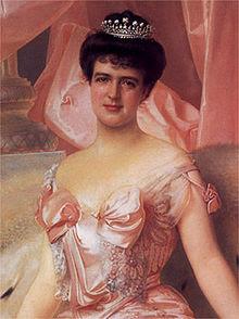 Portrait d'Amélie d'Orléans (1865-1951), dernière reine du Portugal
