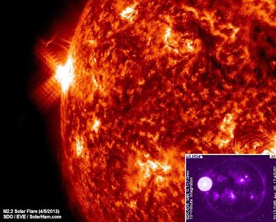 LLAMARADA SOLAR CLASE M2.2, 05 DE ABRIL DE 2013