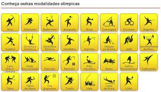 atividades sobre os esportes olímpicos parte 1