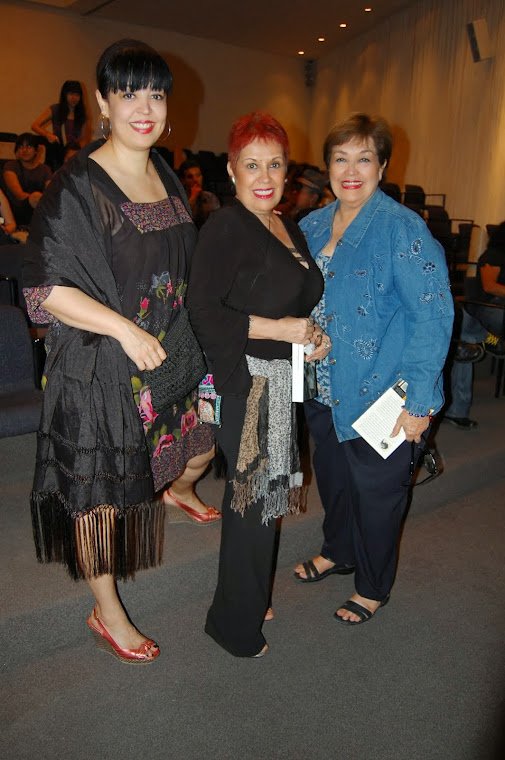 Lorena Rodríguez, Artista Visual, Elsa Ayala Pintora, y yo