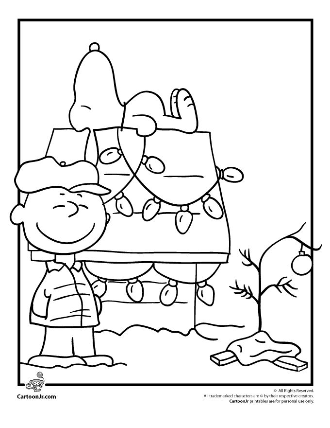 Snoopy Coloring Pages Printable ~ Cute Printable Coloring Pages