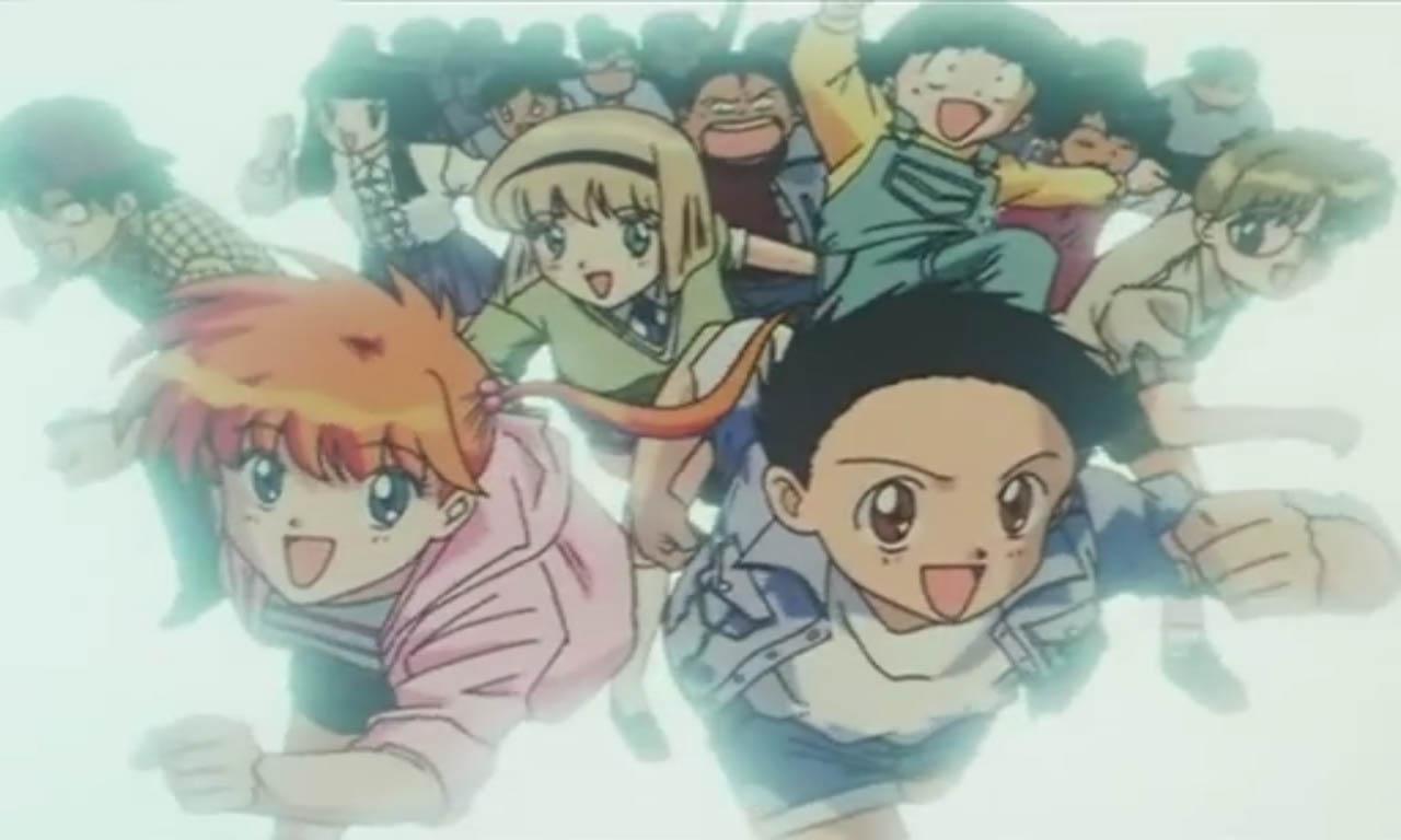 Domori Elementary School of Class 5-3 Students Under Nueno Meisuke - Hiroshi Tateno, Kyoko Inaba, Miki Hosokawa, Katsuya Kimura, Makoto Kurita