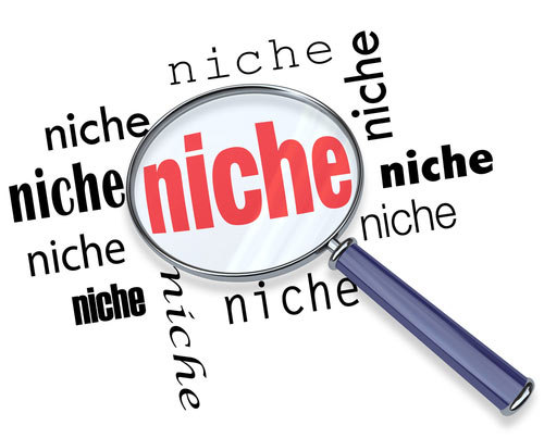 It's essential to find the right niche!