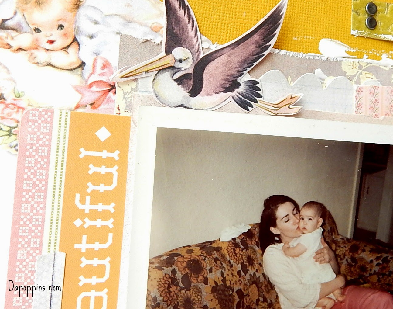 ugliest couch, Mom & Me, old photo's, dapoppins