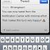 QuickTweet envia tweets diretamente pela Central de Notificações