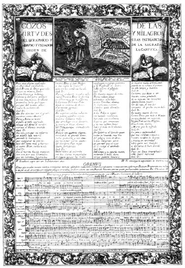 De 1702 són els goigs més antics amb música gravada, a sant Bruno i de la Cartoixa de Montalegre