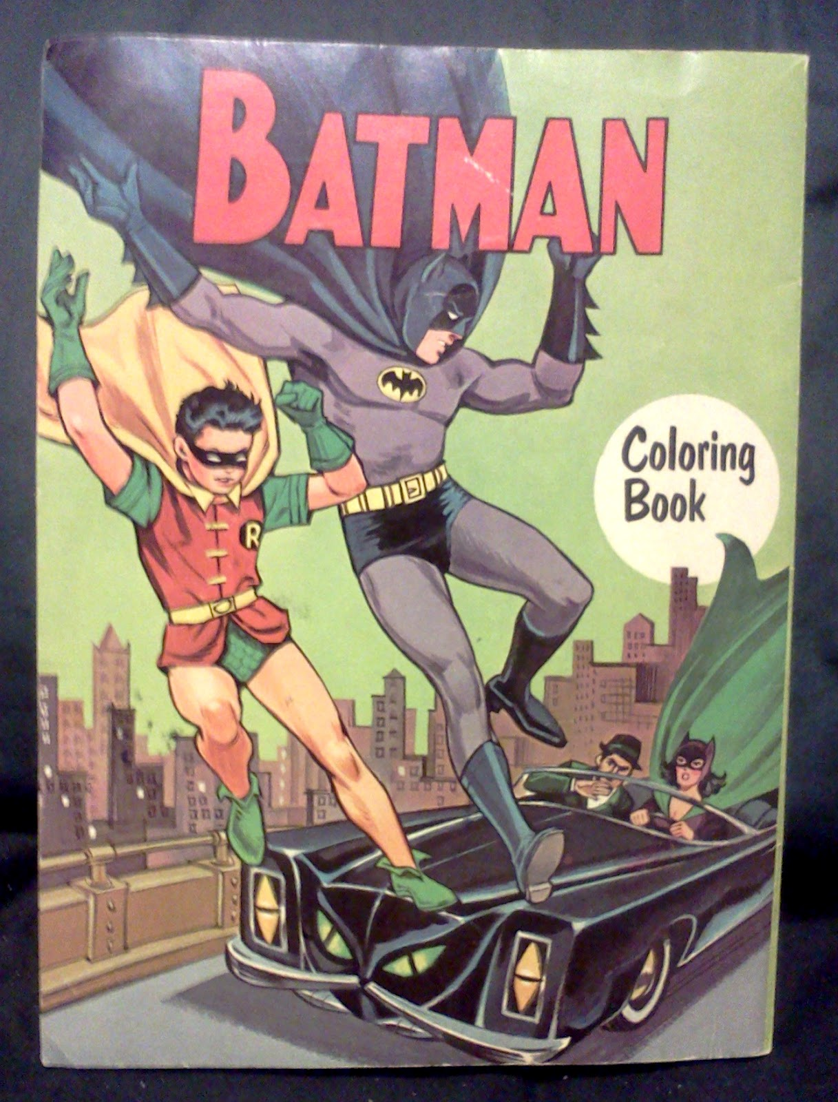 1966 Batman Coloring Book