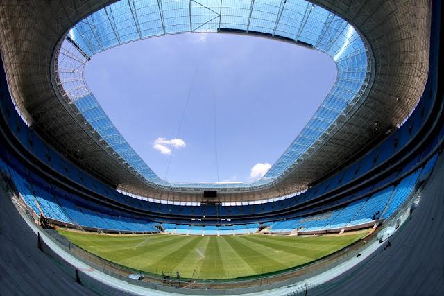 Arena Grêmio em novembro de 2012
