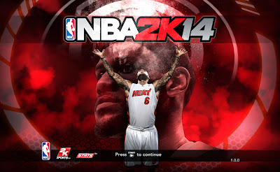 NBA 2K14 Default Titlescreen