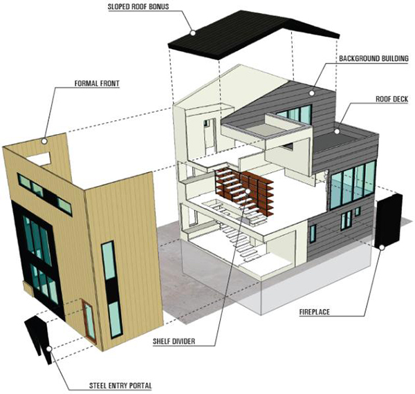 The Seattle House Modern Architect  Modern House Plans Designs 2014