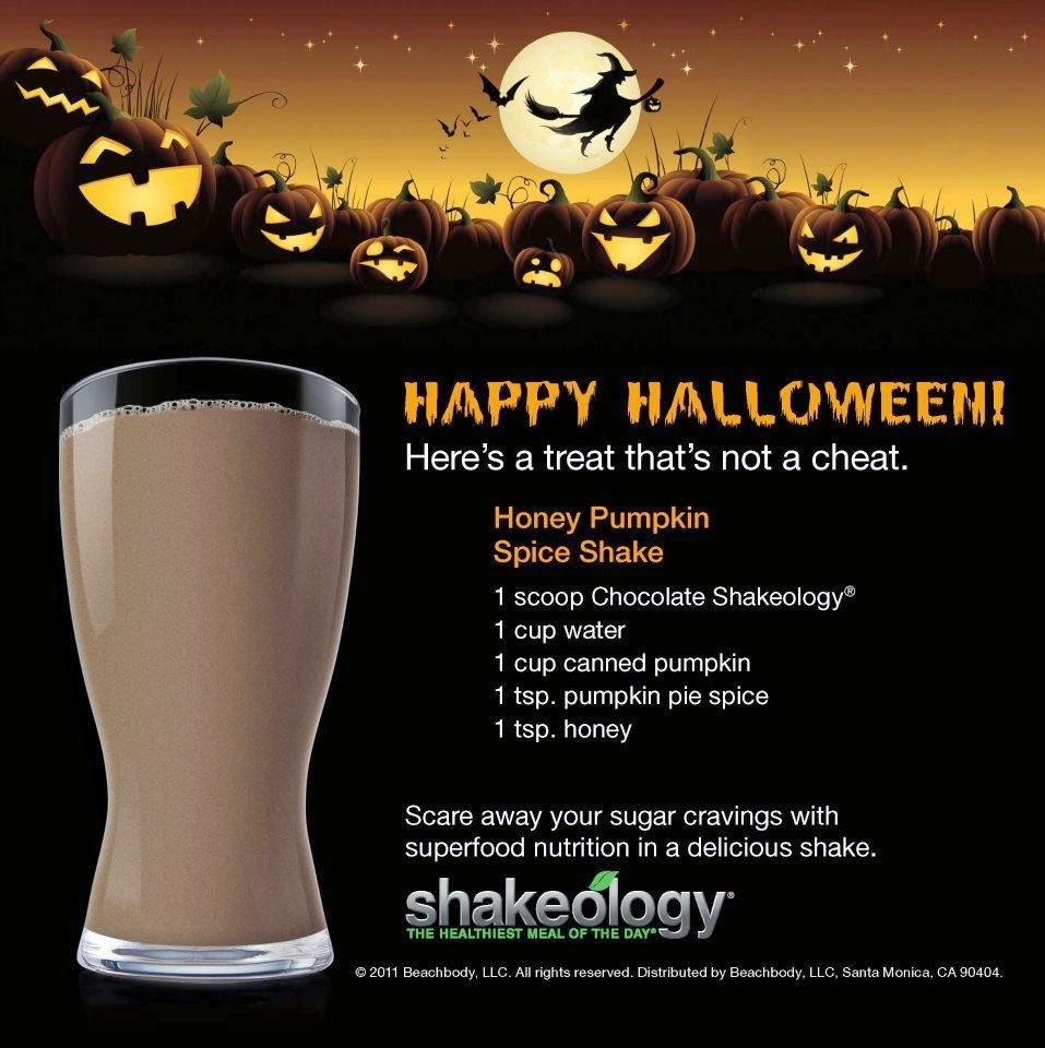 Halloween Survival Tips, Halloween Shakeology Recipes