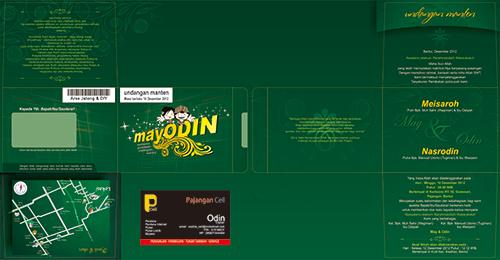Design undangan unik DSLM201313
