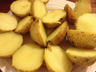 potato halves