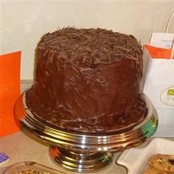 Le gâteau Foncé allemand