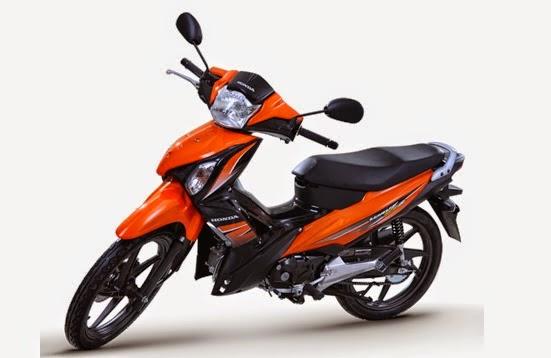 Honda Wave 125 Alpha Candy Energy Orange