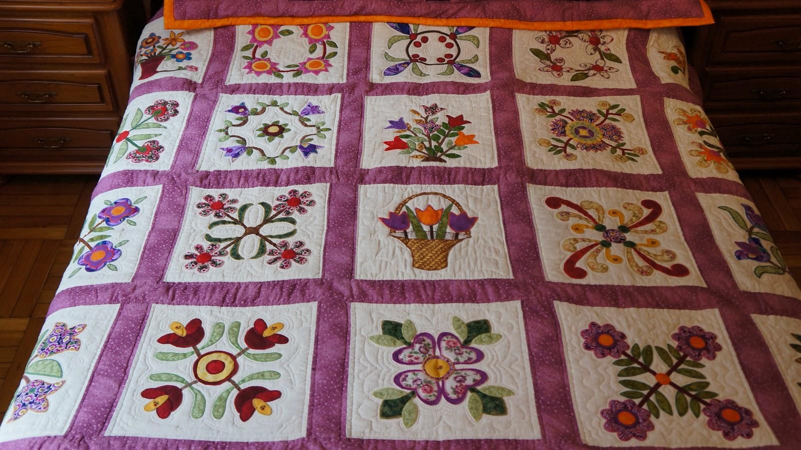 Colchas de patchwork con aplicaciones imagui - Colchas de patchwork hechas a mano ...