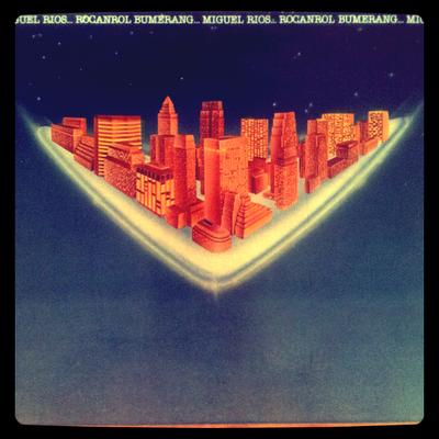 Miguel Ríos - Rocanrol Bumerang (Polydor - 1980) Portada