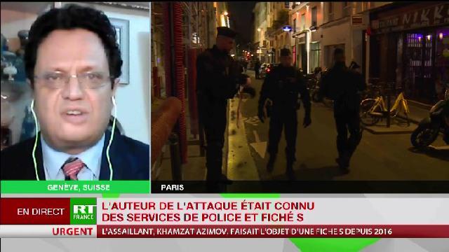 Riadh Sidaoui à RT France: Attentat à Paris: Enjeux et Objectifs