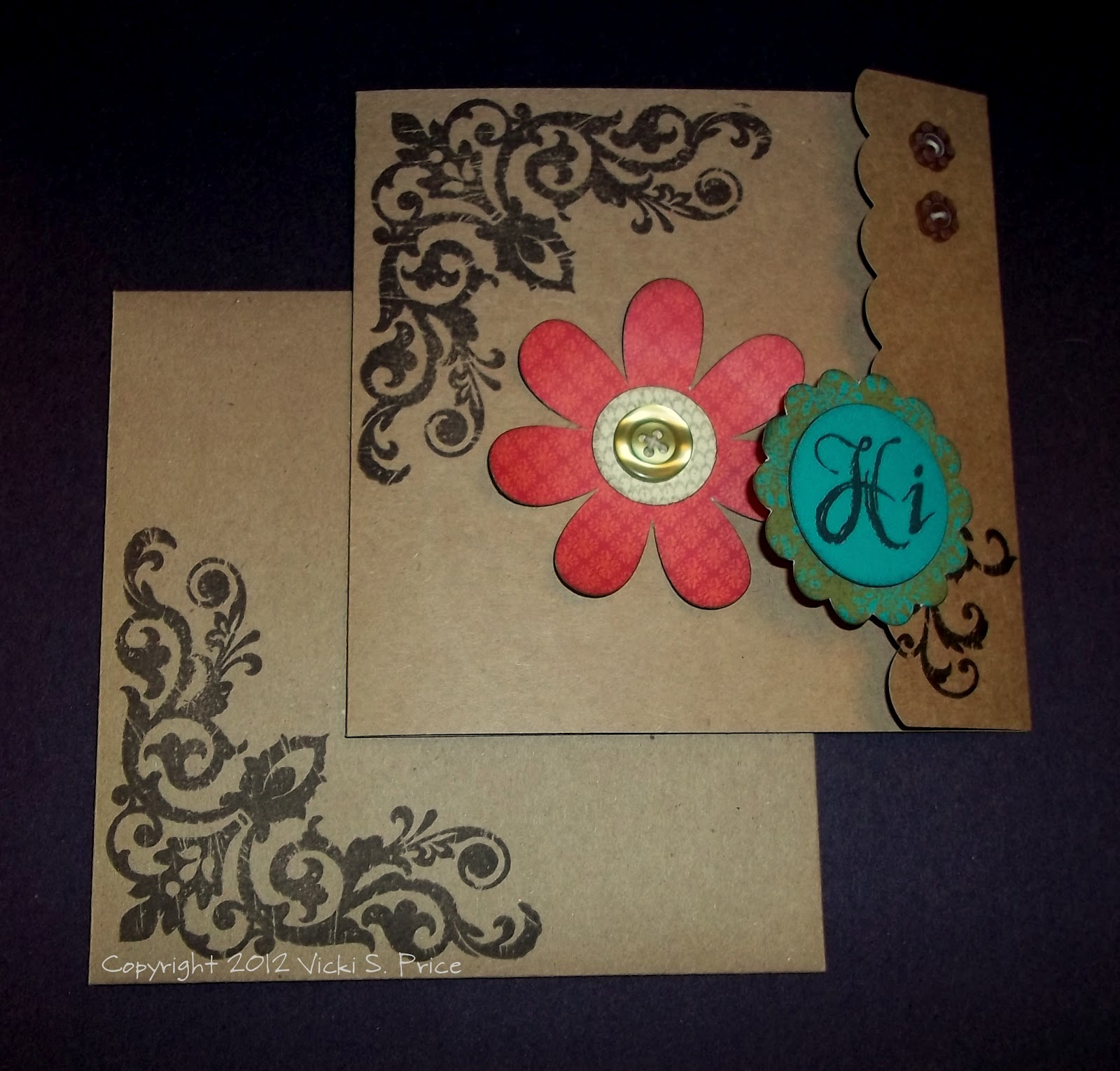 The price of paper august stamp of the month blog hop What side of envelope does stamp go on