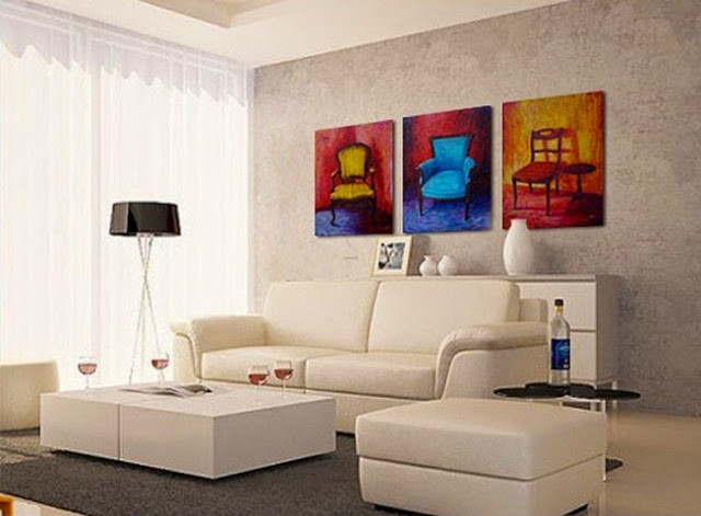 wall painting designs pictures for living room
