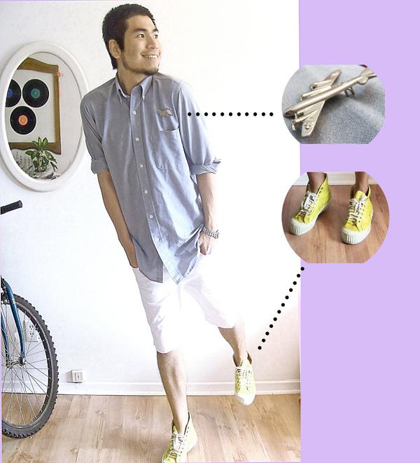 Teresa Teng HongKong Pink Converse LookBook Ben Liu