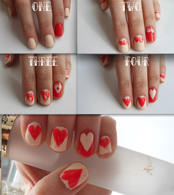 Valentines Day Nail Art Tutorials My Own Email