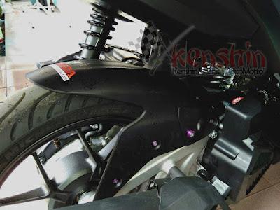 Spakbor Kolong Variasi Vario 125, Terbuat dari Spakbor Ninja 250