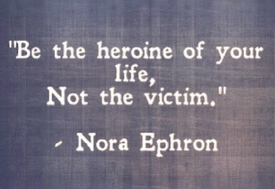 statement quote. Be the heroine on your life