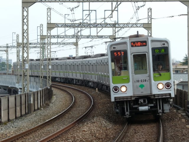 京王電鉄 快速 京王多摩センター行き2 都営10-000形230F 250F