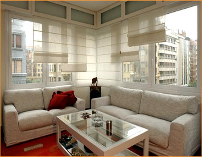 Estores cortinas modernas para tus ventanas cocinas - Estores para salones ...
