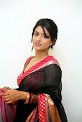 Nidhi Natuiyal Glamorous Photos in Saree-thumbnail-5
