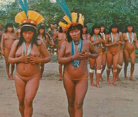 nude Rainforest native girls