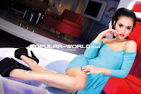 Putri Lana Model Popular Magazine Oktober 2012 Part (2)