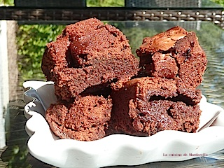 brownies idée originale chamallow enfants