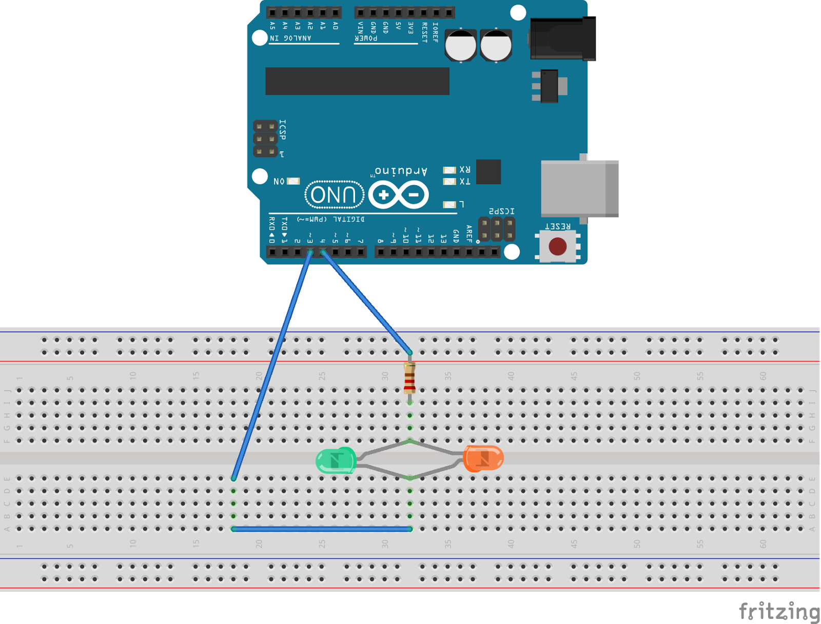 Mcu Arduino Level Crossing This Is The Led Resistor Calculator For Leds In Parallel 11 Here I Use Different Color Readability 2 Add 220 Ohm Current Limiting To Any Side Of Connected