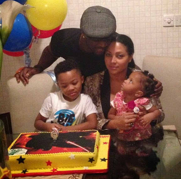peter okoye family