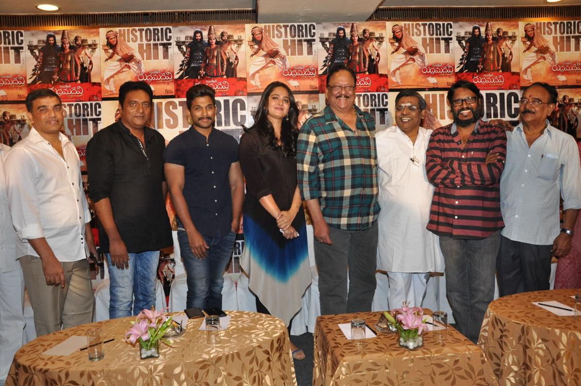 Rudramadevi movie success meet photos-HQ-Photo-4