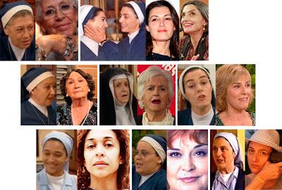 Pilar Bardem, Ángela y Mónica Molina, Chus Lampreave, Amparo Valle