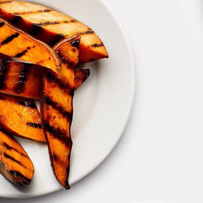 Pomfrit od batata na roštilju