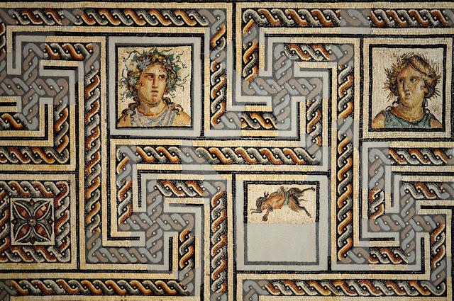 mosaic musée gallo romain lyon