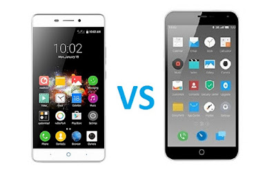 ZTE Blade A711 vs Meizu M2 Note