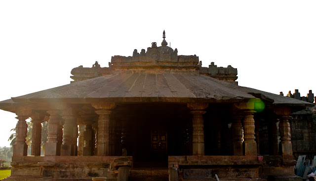 Front view of the Brahma Jinalaya temple